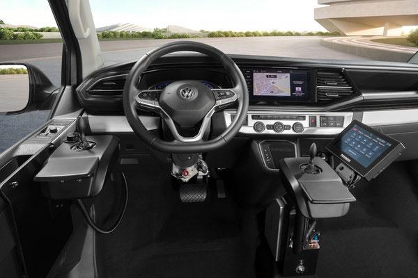 behindertengerechter VW T6.1 Selbstfahrerumbau