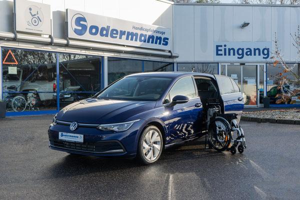 Volkswagen Golf 8 als Selbstfahrerumbau
