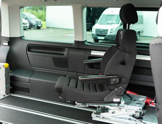 behindertengerechter Volkswagen T6.1 Selbstfahrerumbau