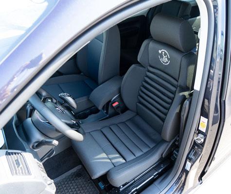 Volkswagen Caddy Selbstfahrerumbau