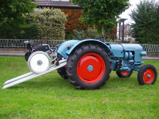behindertengerechter Traktorumbau