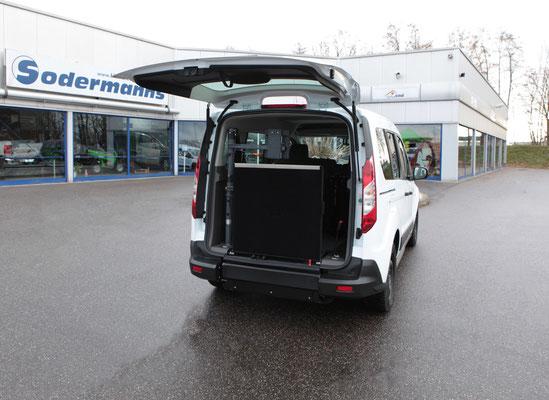 Ford Transit Connect Beifahrerumbau