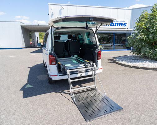 Verladesystem zum Transport Ihres Hilfsmittels