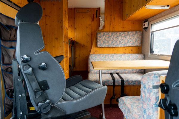 Reisemobil für Menschen mit Mobilitätseinschränkung