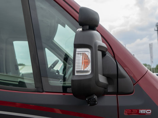 behindertengerechtes Fiat Malibu Wohnmobil für Selbstfahrer