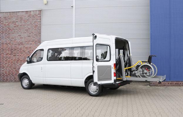 behindertengerechter Mogeok Maxus EV80 Elektrofahrzeug