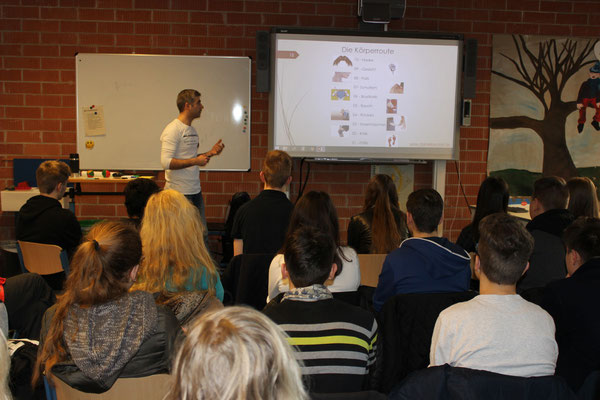 #Schülerkurs an der #Georg-August-Zinn-Schule Dezember 2015 / #Merktechniken