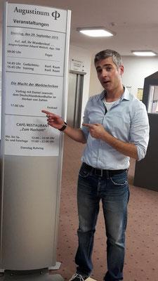 #Vortrag Augustinum Kassel 2015 ca. 200 Besucher