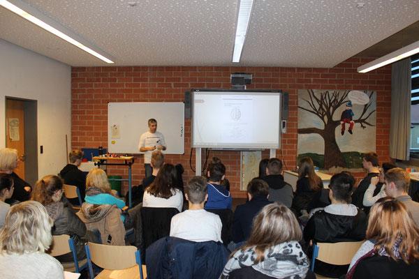 #Schülerkurs an der #Georg-August-Zinn-Schule Dezember 2015 /# Merktechniken