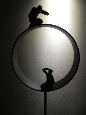 """""""Vision""""  hauteur 120 cm  320 euros"""