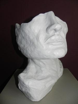 """""""Sansual""""       pierre blanche     35cm / 34cm     450 euros"""