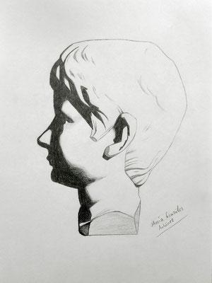 Grafito 40 x 30 cm. María González Antúnez (Alumna de 1º año).