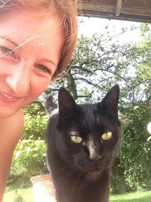 Blacky der Selfie Meister