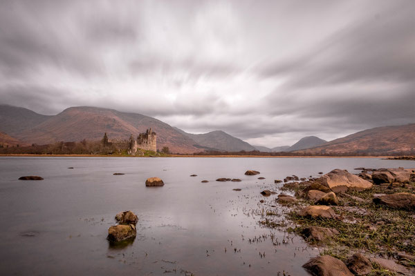 Loch Awe with Kilchurn Castle (United Kingdom)