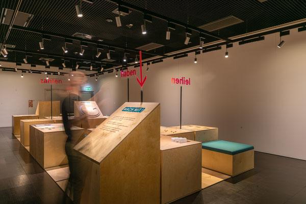 Mein Geld - eine Mitmachausstellung - von und mit Wienss. Innenausbau. www.wienss-innenausbau.de - mitmachen