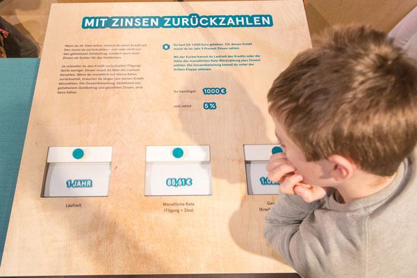 Mein Geld - eine Mitmachausstellung - von und mit Wienss. Innenausbau. www.wienss-innenausbau.de - mitmachen - was passt?