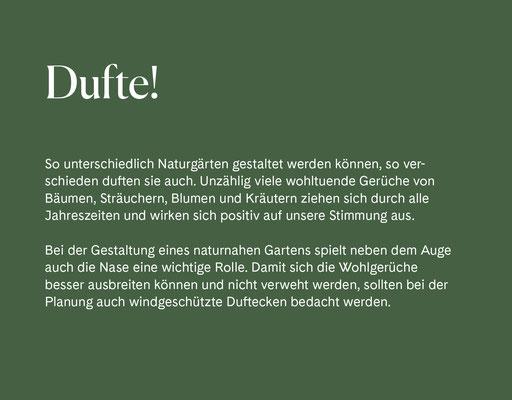 Wienss Innenausbau GmbH - Innenausbau, Objektbau, Museumsbau - hier: Gartenmuseum Lennestadt - www.wienss-innenausbau.de - Gartenalphabet D wie Duft