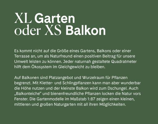 Wienss Innenausbau GmbH - Innenausbau, Objektbau, Museumsbau - hier: Gartenmuseum Lennestadt - www.wienss-innenausbau.de - Gartenalphabet X wie XL