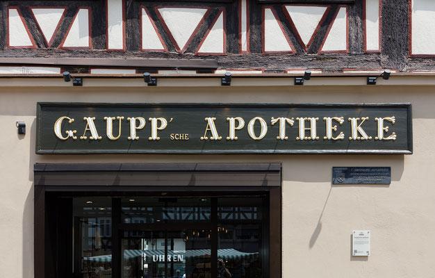 Wienss Innenausbau GmbH - Umbau Gaupp'sche Apotheke Schorndorf - Eingang