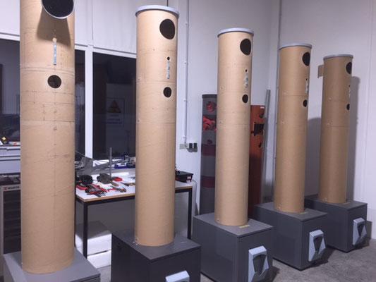 Wienss Innenausbau GmbH - Serienfertigung von Serien und Kleinserien in der CNC Schreinerei. - Photobooth 2.0 - Einbau Elektronik