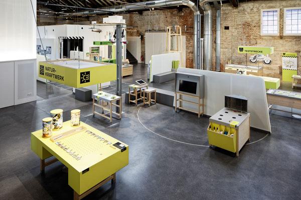 Wienss Innenausbau GmbH - Forscherfabrik Schorndorf - Innenausbau, Objektbau, Museumsbau - Akustiktrennwände - Raumaufteilung