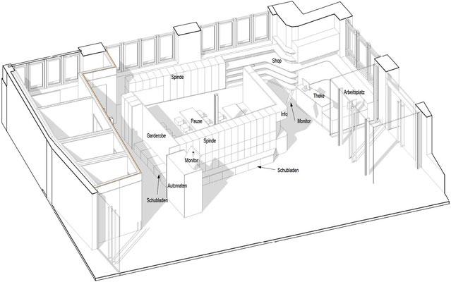 innenausbau forscherfabrik schorndorf wienss innenausbau. Black Bedroom Furniture Sets. Home Design Ideas