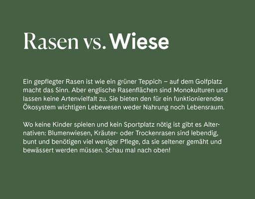 Wienss Innenausbau GmbH - Innenausbau, Objektbau, Museumsbau - hier: Gartenmuseum Lennestadt - www.wienss-innenausbau.de - Gartenalphabet W wie Wiese