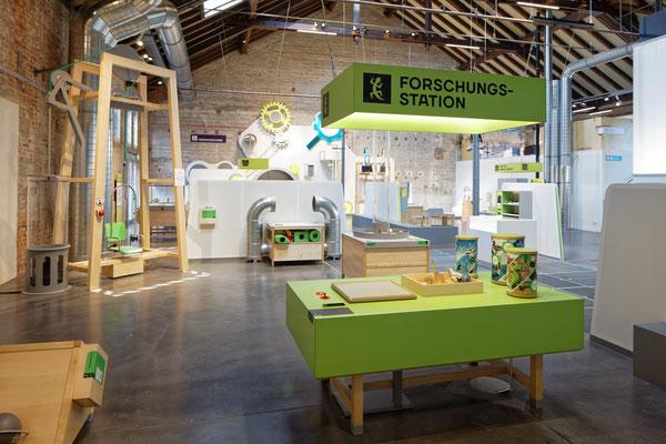 Wienss Innenausbau GmbH - Forscherfabrik Schorndorf - Innenausbau, Objektbau, Museumsbau - Akustiktrennwände - Stationen