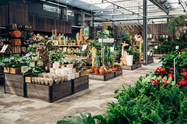 Wienss Innenausbau GmbH - Innenausbau, Objektbau, Museumsbau - hier: Gartenmuseum Lennestadt - www.wienss-innenausbau.de - Ansicht Beete und Gewächse
