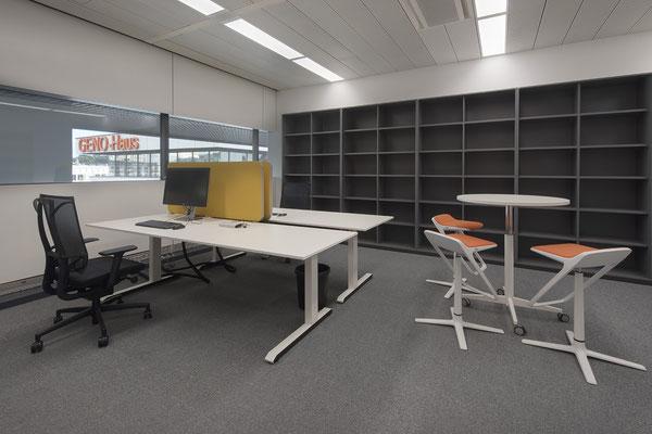 Umbau GENO Haus Stuttgart - Wienss Innenausbau GmbH - Paketverteilerschrank