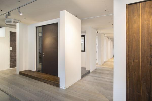 Wienss Innenausbau GmbH - Innenausbau, Objektbau KONZ Baustoffe Waiblingen - Türenportale Eingangstüren