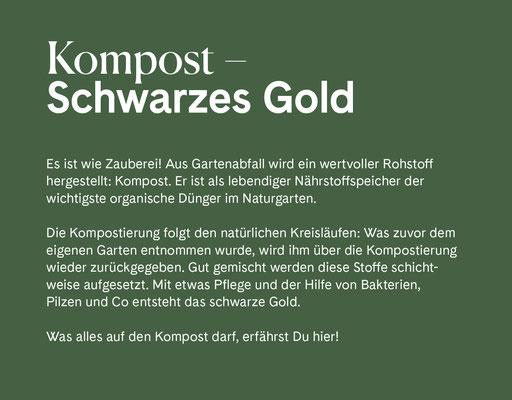 Wienss Innenausbau GmbH - Innenausbau, Objektbau, Museumsbau - hier: Gartenmuseum Lennestadt - www.wienss-innenausbau.de - Gartenalphabet K wie Kompost