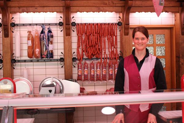 Martina Neuber, Fleischereifachverkäuferin