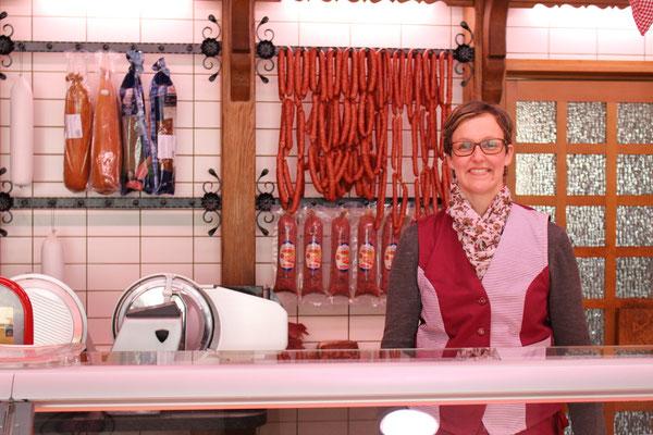 Daniela Claas, Fleischereifachverkäuferin