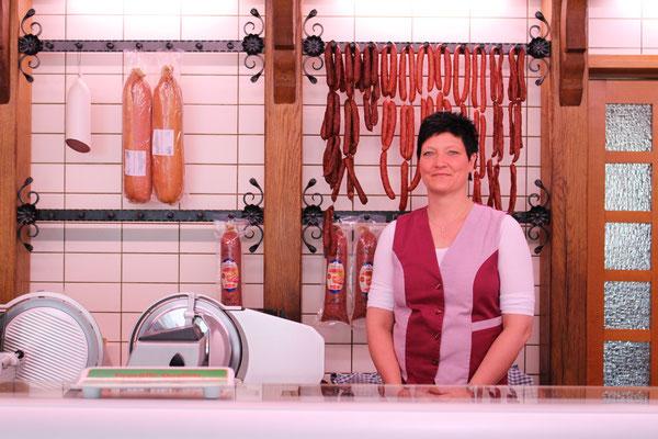 Sigrid Stipper, Fleischereifachverkäuferin