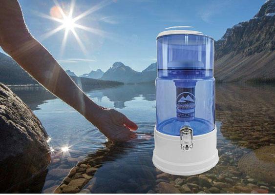 PIPRIME Wasserfiltersystem für hartes Wasser