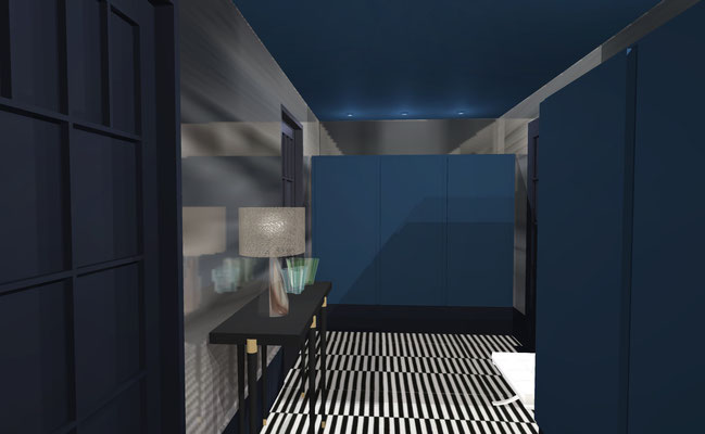 Dressing/vestibule