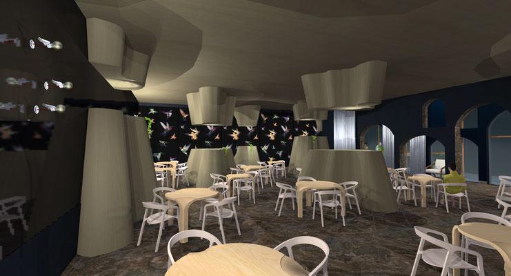 Concept restaurant bio de luxe - Home PM&P décoration et design
