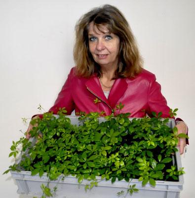 Susanne Rusch ist für Versand und Betreuung zuständig.