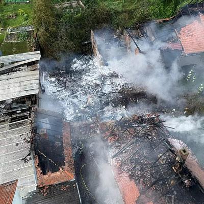Brand Großschaden (F4) 07.2021