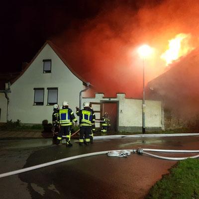 Gebäudebrand (F3) 04.2020