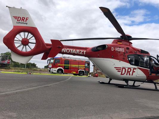 absicherung Hubschrauberlandung (H1) 07.2019