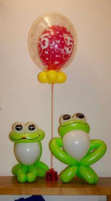 Mr. Balloni.ch, Ballonfrosch, Frösche,Heliumballon, Helium,Geburtstag, Geschenk, Überraschung, Gutschein