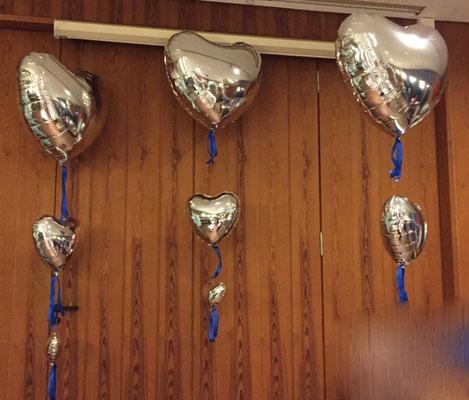 Mr. Balloni.ch, Hochzeit, Liebe,  Ballonherz, Dekoration, Geschenk, Herzen, Valentinstag, Überraschung, Helium