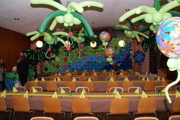 Mr. Balloni.ch,  Tischdekoration,Raumdeko,Ballonwand, Dekorationen,Phantasie, Fantasie, Überraschung, Firma, Geburtstag