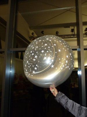 Mr. Balloni.ch,  Raumdeko, Dekorationen Firma, Ballon im Ballon