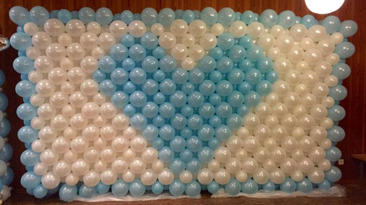 Mr. Balloni.ch, Hochzeit, Liebe,  Ballonherz, Dekoration, Geschenk, Ballonwand