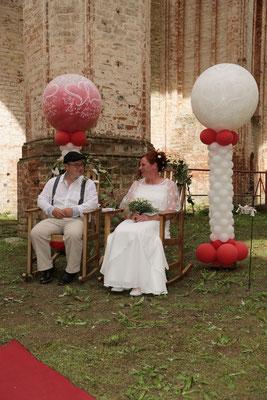 Mr. Balloni.ch, Hochzeit, Liebe,  Explosionsballon, Exploderballon