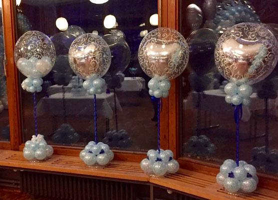 Mr. Balloni.ch, Hochzeit, Liebe,  Ballonherz, Dekoration, Geschenk, Herzen, Valentinstag, Überraschung, Raumdeko