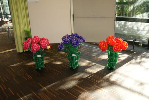Mr. Balloni.ch, Dekoration, Raumdeko, Geburtstag, Ballonblumen